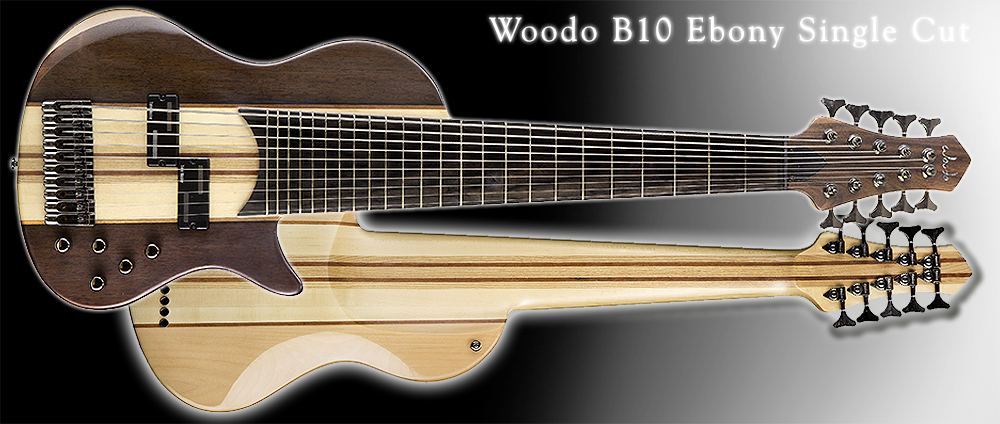 Woodo B10 Ebony Single Cut